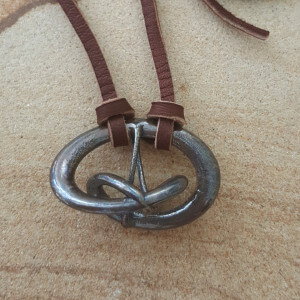 Triune - Bronze Music Necklace by Techniflow